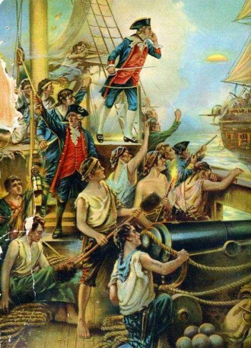 Джон Пол Джонс: пират на родине и герой в России