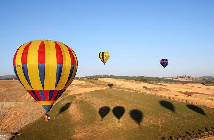 Как в Италии проходит Международный фестиваль воздушных шаров 2017