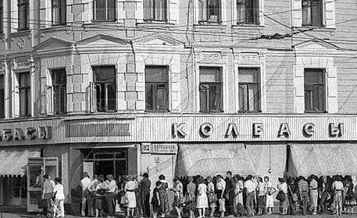Записано со слов дочери советского товароведа