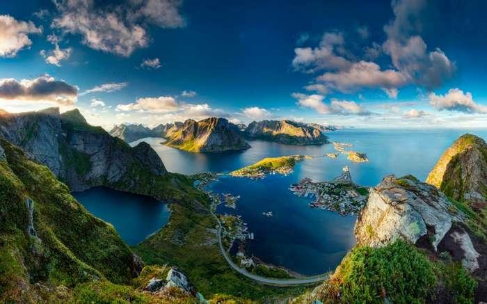 -Welcome to the Norway!-. Маленькое путешествие в сказочную страну