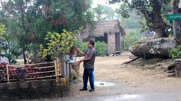 Как поддерживают порядок в индийской деревне