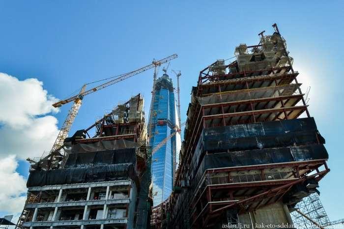 Стройка самого высокого небоскреба в Европе
