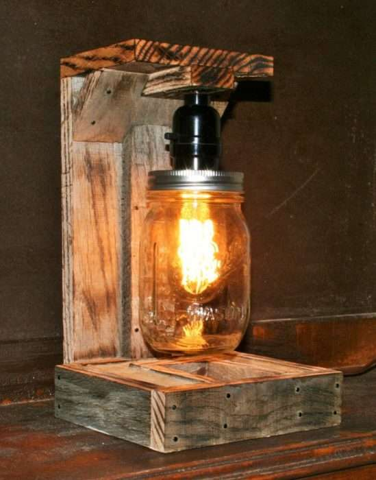 Уникальные дизайнерские светильники из дерева, которые можно изготовить своими руками