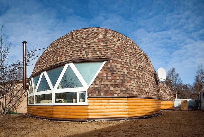 Купольные дома - отличная альтернатива стандартным постройкам