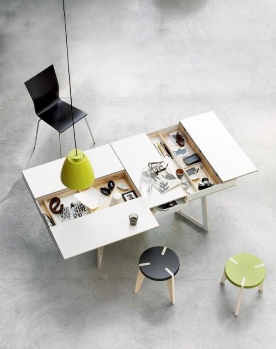 9 невероятно крутых столов, которые вдохновляют на работу