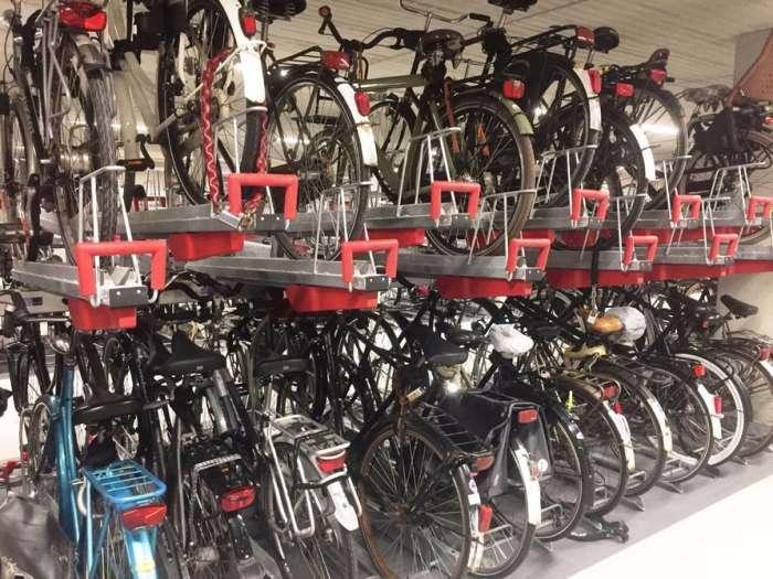 В Голландии открывают самый большой подземный гараж для велосипедов