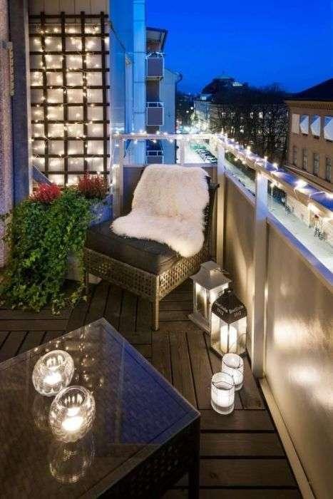 20 восхитительных идей для оформления стильных балконов и лоджий