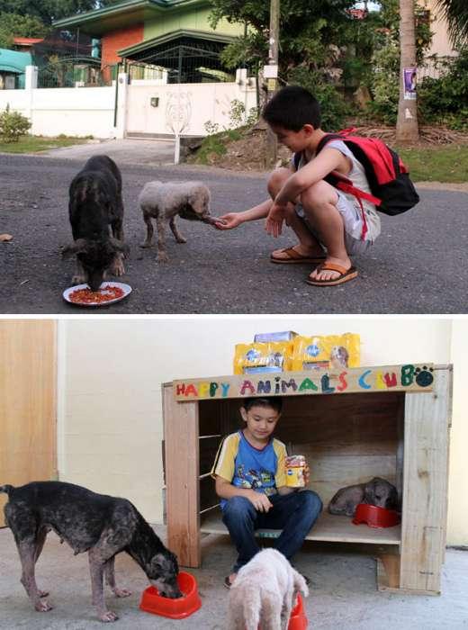 19 очаровательных детей, которые несут добро в наш суровый мир