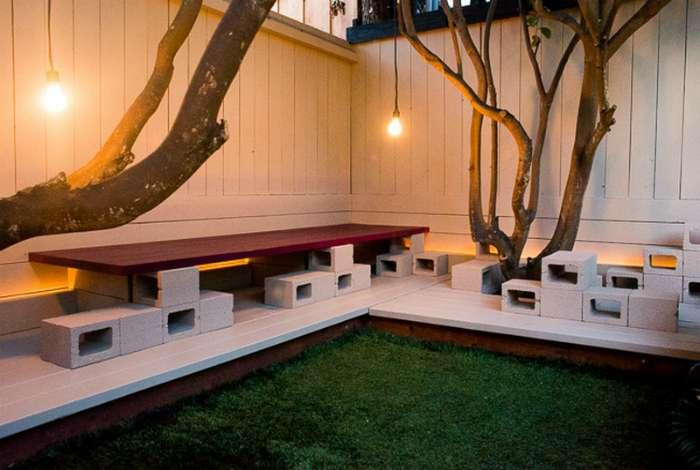 15 оригинальных поделок для садового участка, которые можно сделать своими руками из шлакоблоков