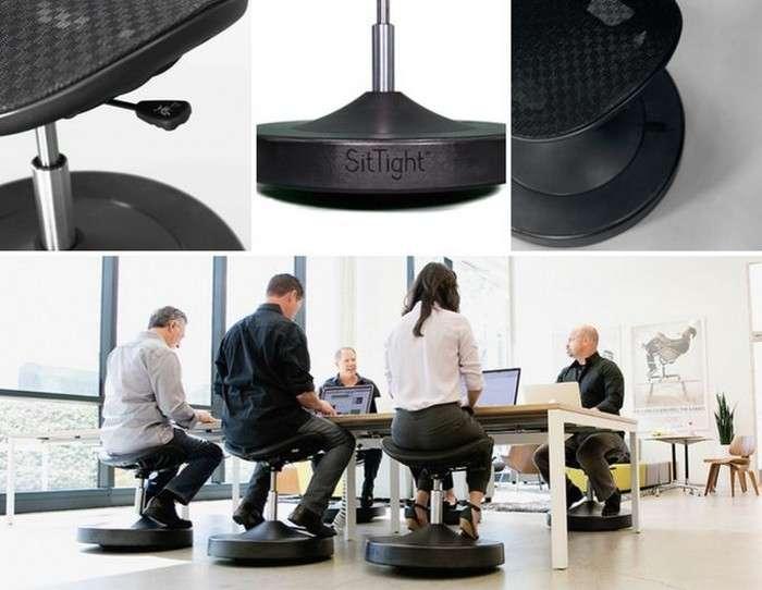 -Балансируй!-: стул-тренажёр, который заставит сжигать калории прямо на рабочем месте