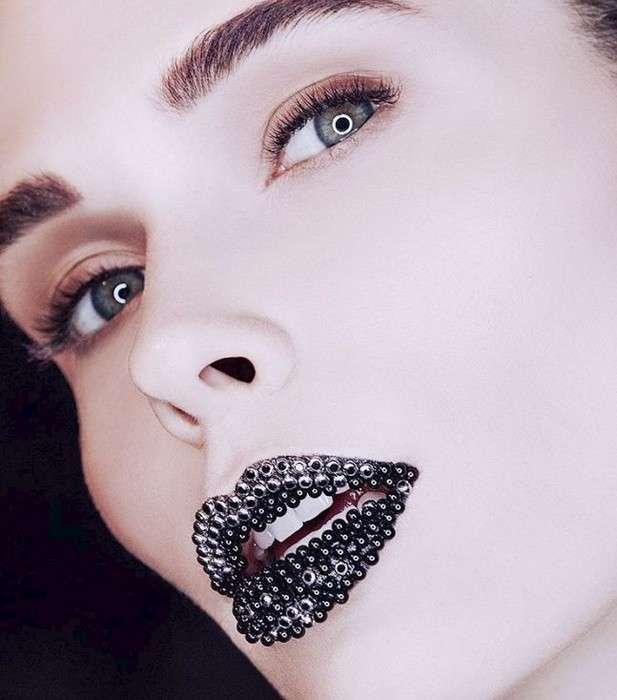 Приятного аппетита: -Икорный- макияж – новый (и очень странный) тренд будущей осени