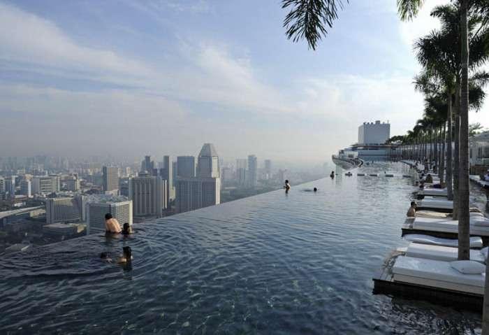 5 самых умопомрачительных бассейнов, которые расположены в отелях в разных уголках планеты