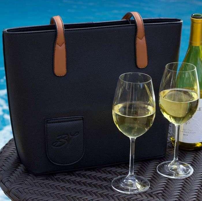 Работать станет веселее: Сумка, в которой можно пронести вино куда угодно