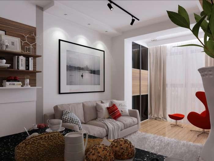 Маленькая да удаленькая: стильные апартаменты на площади менее 30 кв м