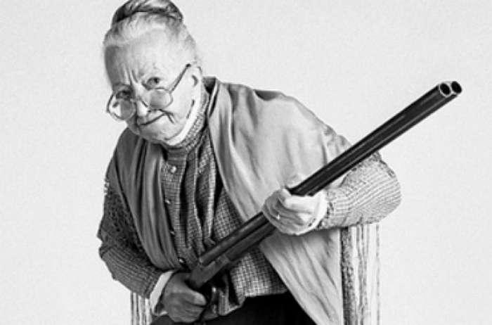 Интересная история : Бабуля