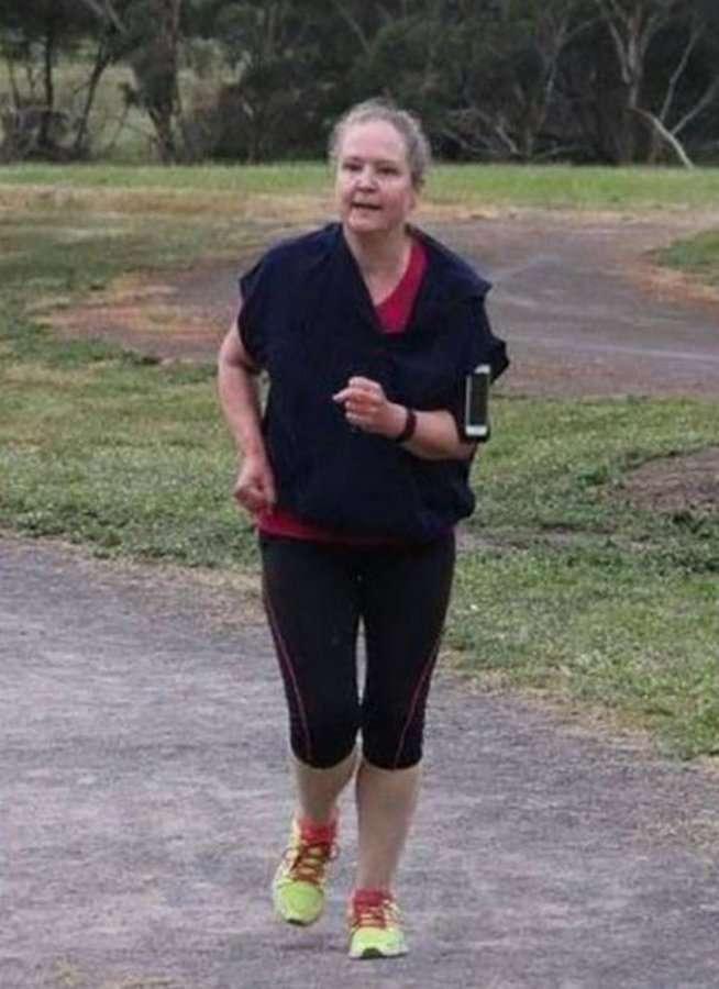 Регулярный бег в течении года