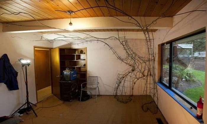 Папа соорудил волшебное дерево для дочери (50 фото)