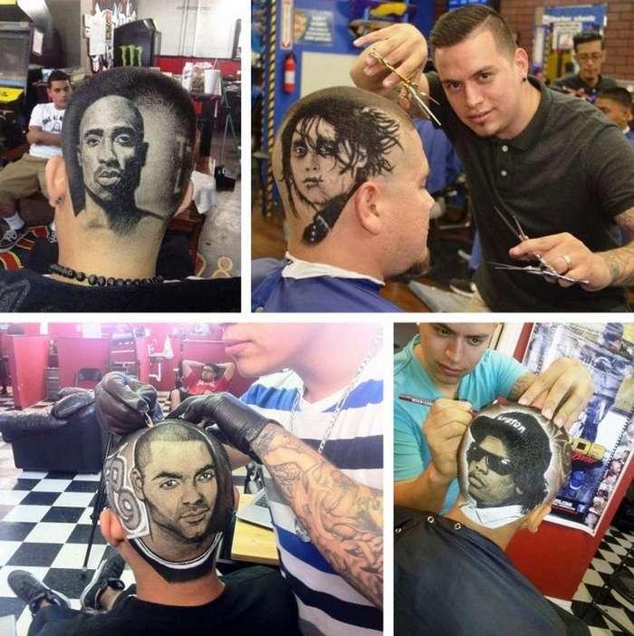 Hair tatto &8212; новый тренд в стрижках (12 фото)