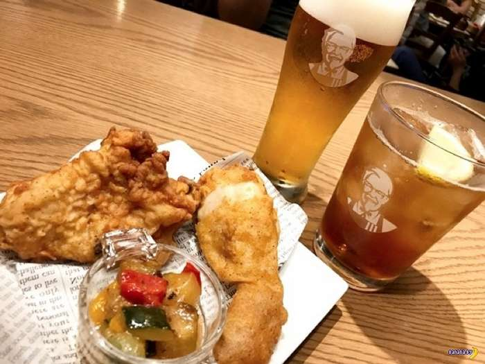 KFC в Японии снова бесчинствует