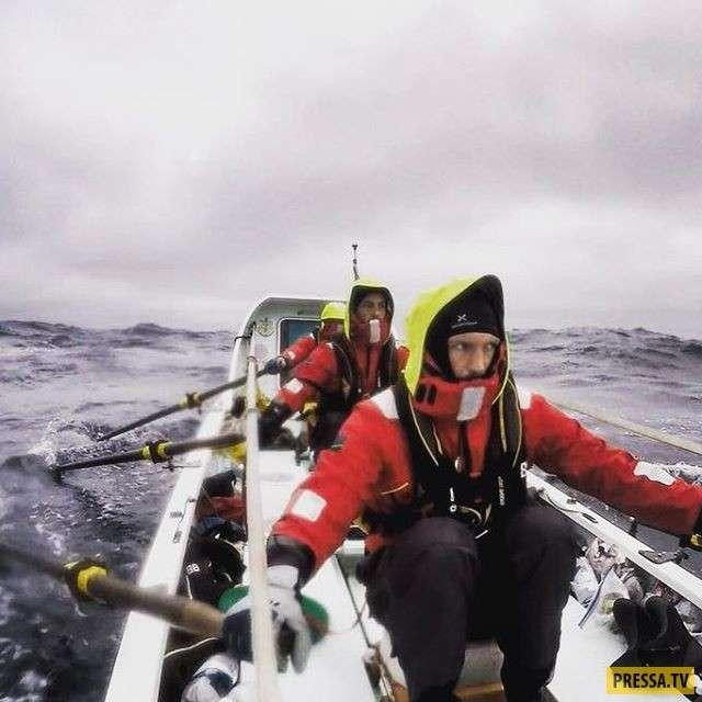 Вот что случилось с руками спортсмена после гребли в Северном Ледовитом океане (5 фото)
