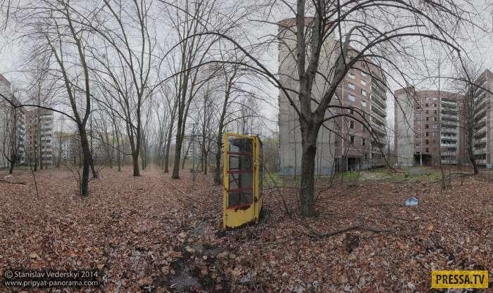 Панорамы города-призрака – Чернобыля (9 фото)