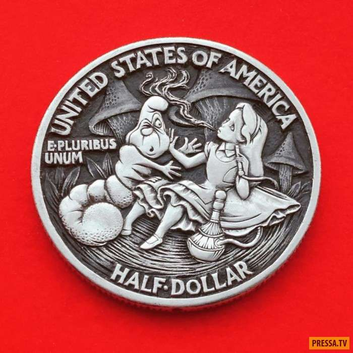 Уникальные поп-культурные монеты (10 лет)