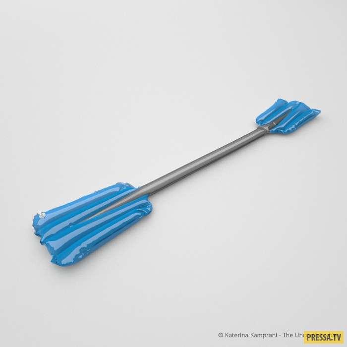 Абсолютно бесполезные предметы, которые невозможно использовать по назначению (20 фото)