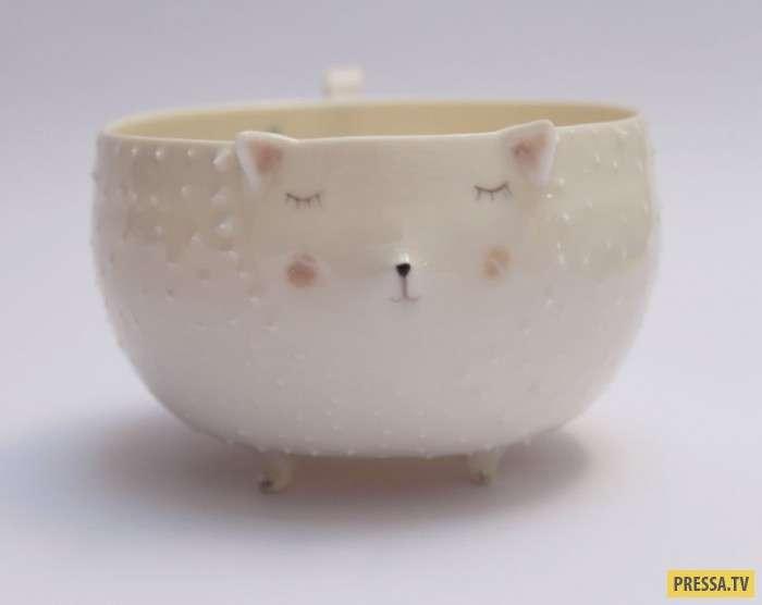 Самые милые чаши из фарфора (12 фото)