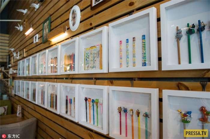 Настоящий музей карандашей (8 фото)