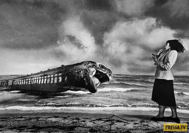 -Фотошоп- 1932 года: сюрреалистичные коллажи немецкой художницы (30 фото)