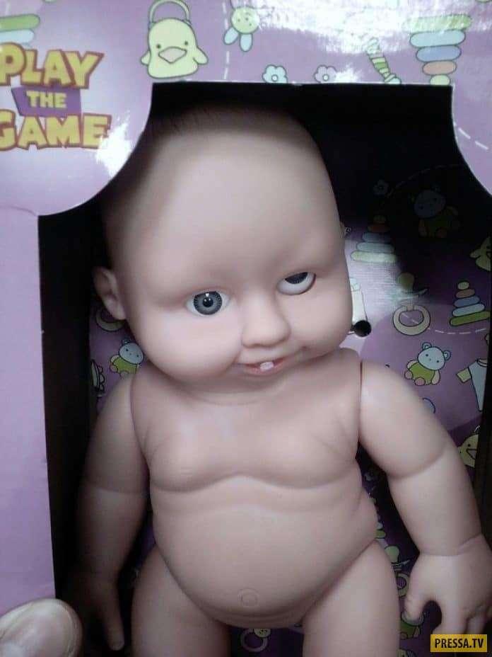 О чем думали создатели этих уродливых игрушек для детей?! (15 фото)