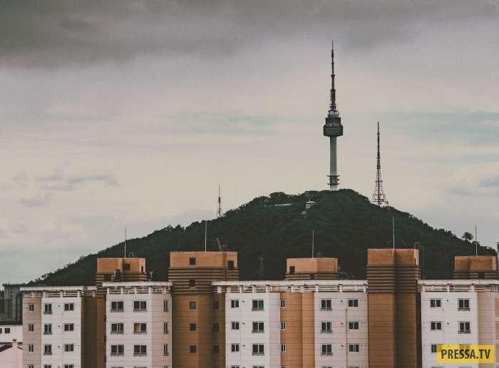 Южная Корея с необычных ракурсов (14 фото)