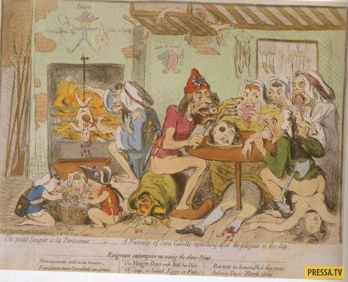 Страницы истории: Страшная смерть маркизы де Ламбаль от рук французских революционеров (10 фото)