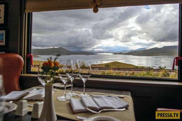 Комфортный и роскошный экспресс Belmond Andean Explorer в Южной Америке - рай для путешественников (12 фото)