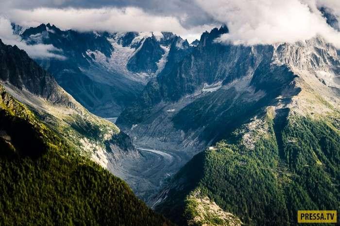 Путешествие по горам Шамони (11 фото)
