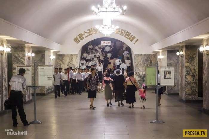 Метрополитен Пхеньяна (25 фото + видео)