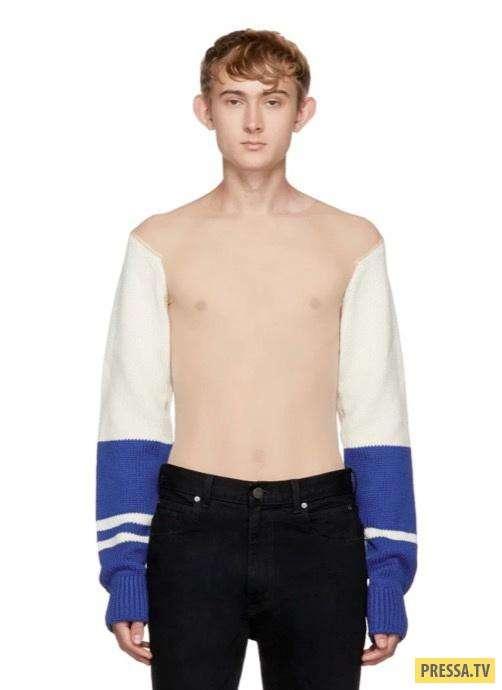 Модный, дорогой и странноватый свитер от Calvin Klein (3 фото)