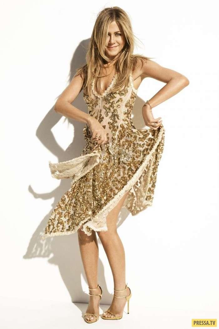 Дженнифер Энистон в пикантной фотосессии для Harper&039;s Bazaar (6 фото)