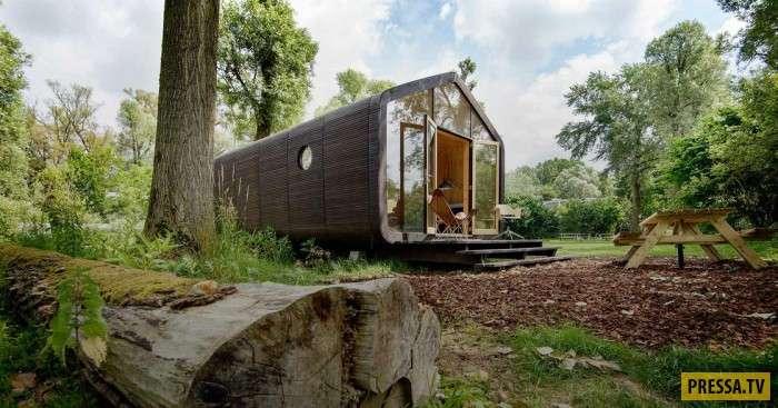Картонный дом – Wikkelhouse (8 фото)