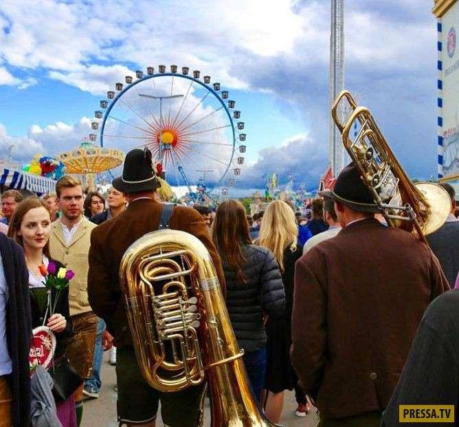 184-й фестиваль пива Октоберфест в Мюнхене (20 фото)