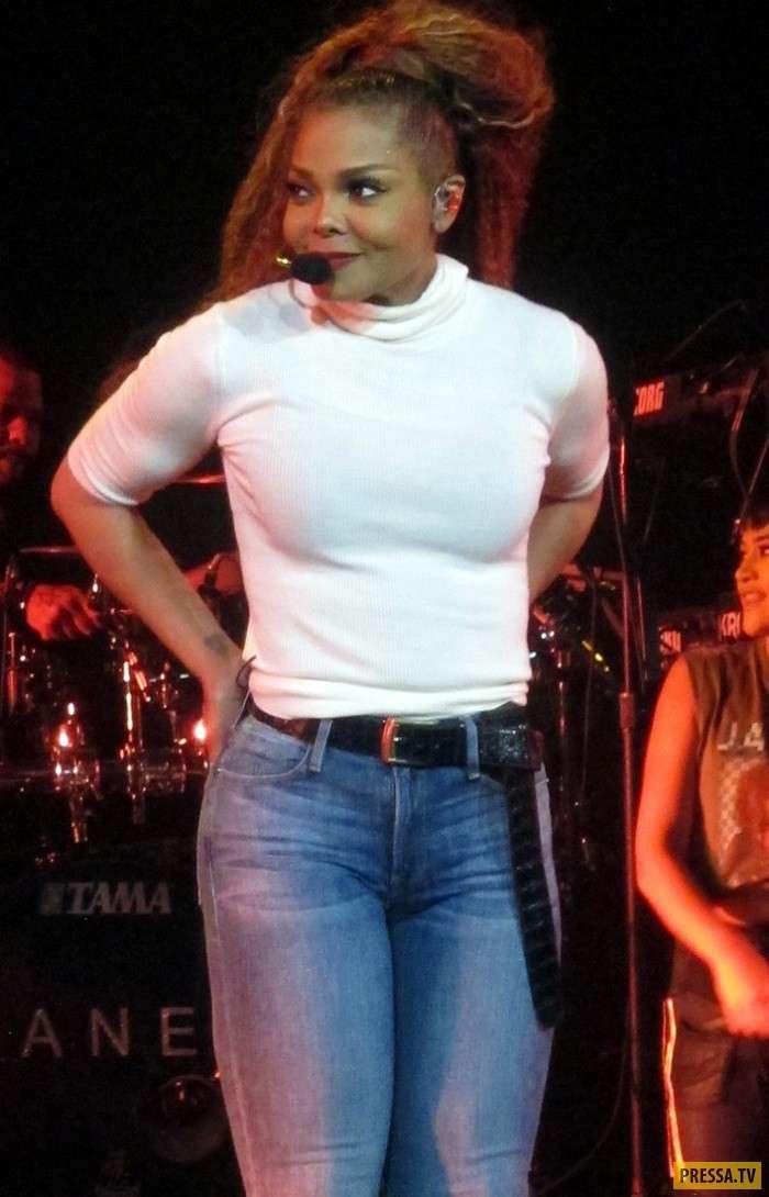 Джанет Джексон вернула прежнюю форму - похудела на 50 кг (15 фото)