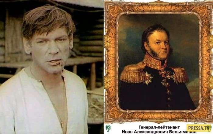 Советские актеры - потомки дворянских родов (13 фото)