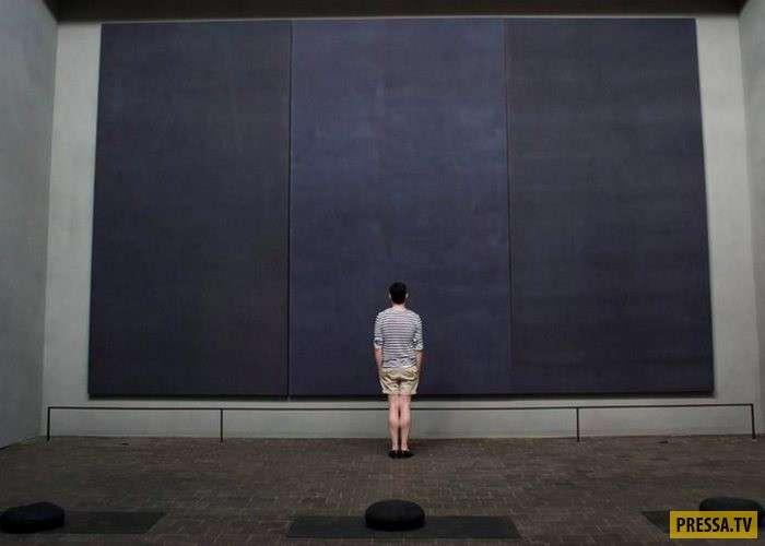 """""""Мазня маляра"""" и """"детские каракули"""" художника-абстракциониста Марка Ротко признаны гениальными (14 фото)"""