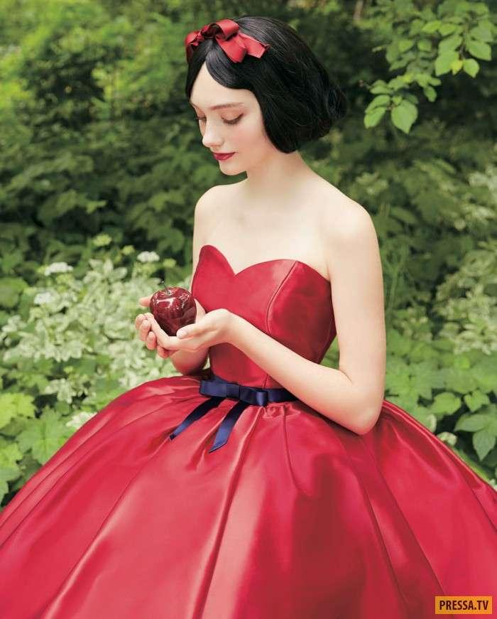 Стать принцессой в день свадьбы: японская компания создает уникальные свадебные платья! (9 фото)