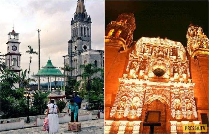Необычные и малоизвестные достопримечательности Мексики (15 фото)
