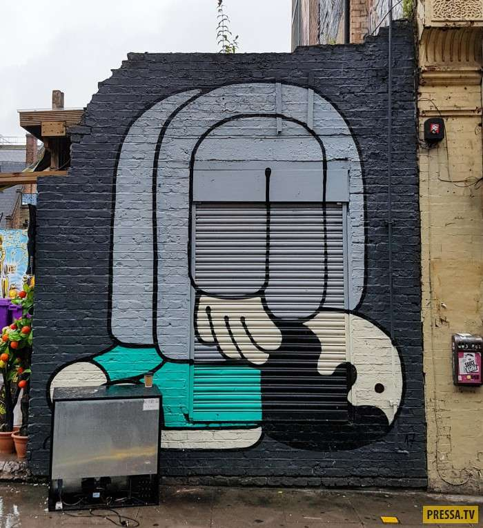 Вот, что можно встретить на улицах Лондона (11 фото)
