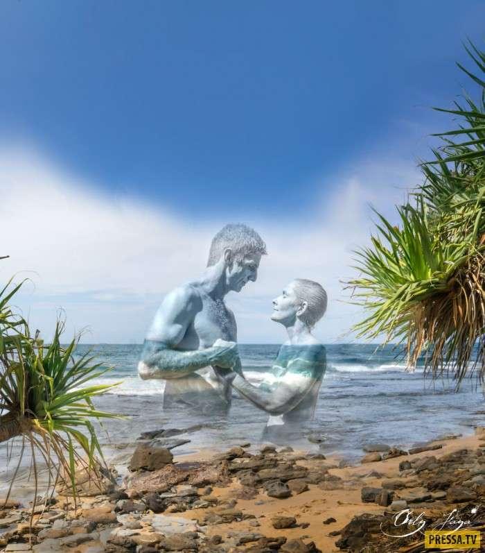 Эти пары показали, что такое гармония любви и природы (8 фото)