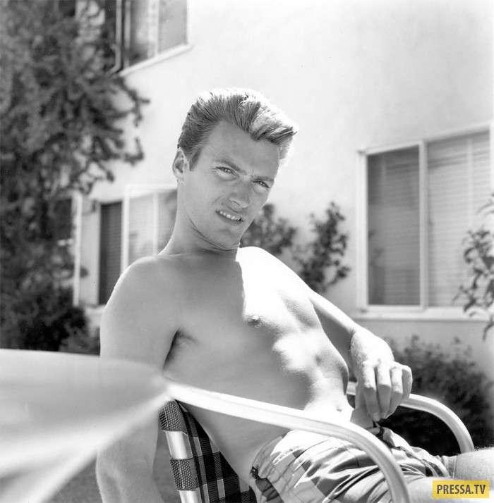 Настоящий секс-символ прошлого века – Клинт Иствуд (10 фото)