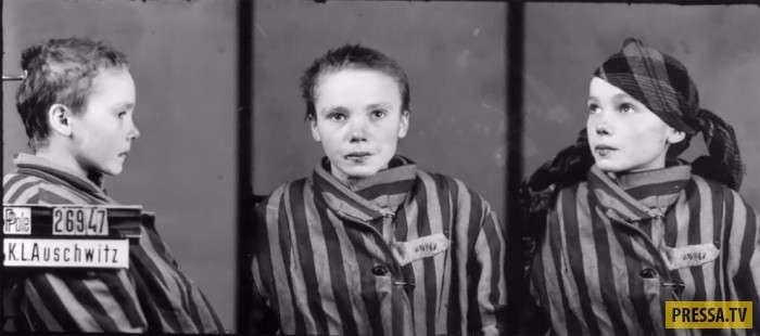 Фото, от которых сжимается сердце: база узников Освенцима во времена Второй мировой войны (13 фото)