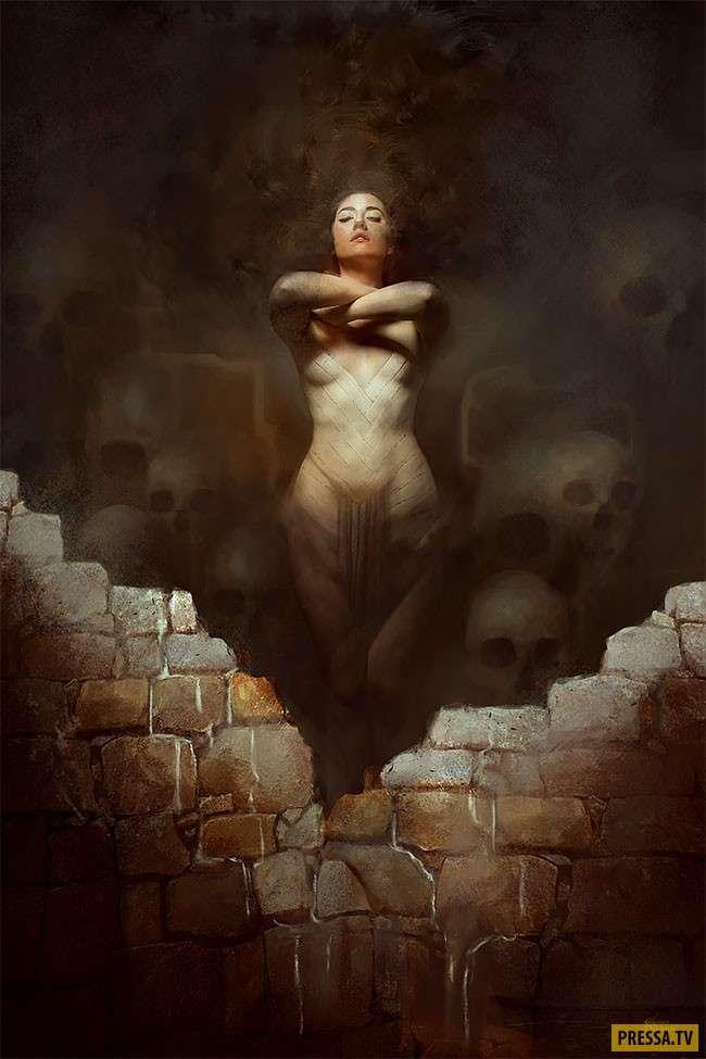 Мифические иллюстрации этого художника сводят с ума! (35 фото)